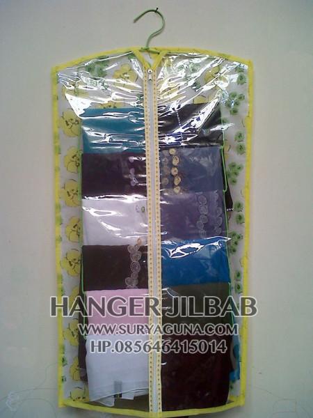 Jual gantungan hanger jilbab organizer