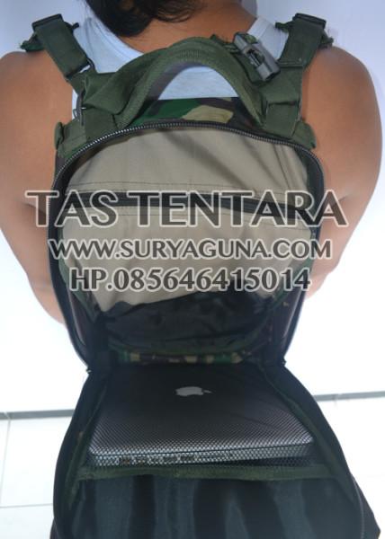Tas Laptop Army Loreng Tentara