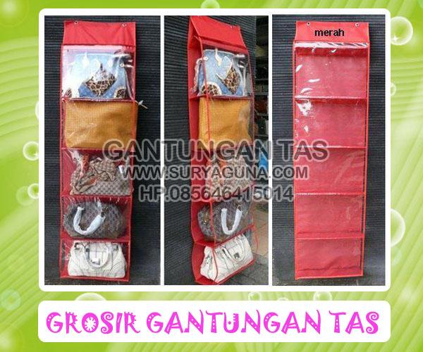 GANTUNGAN TAS ( HANGING BAGS ORGANIZER ) 2