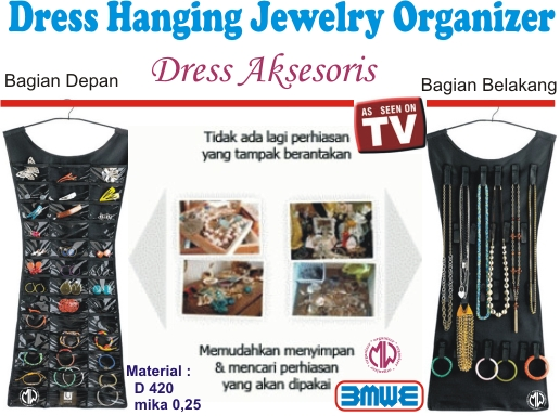 hangging dress aksesoris