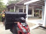 JUAL TAS MOTOR / OBROK / KURIR / SUPER JUMBO