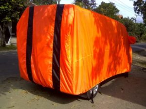 Cover Mobil Indoor Bahan Parasut Berkualitas Ukuran XL