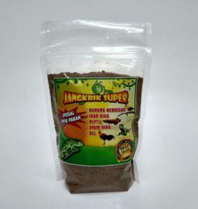 Tepung Jangkrik Pakan Burung Murah Bikin Nggacor Kemasan 500 gram
