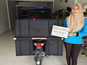 Tas Kurir Motor Laundry Dan Pos Super Jumbo Murah Anti Air Dan Sangat Kuat