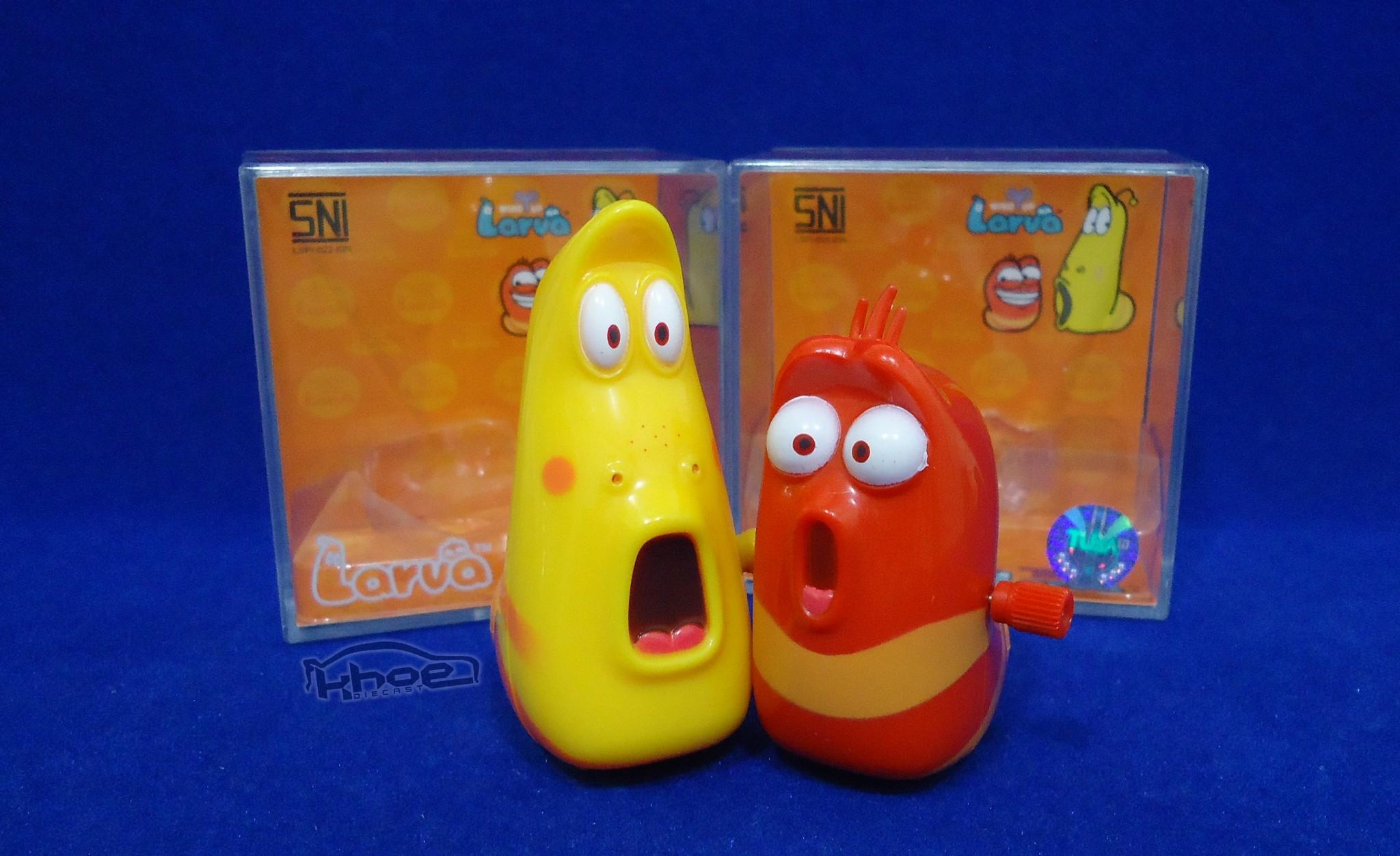 Jual Mainan Larva Action Figure Film Kartun Larvamainan Larvajual
