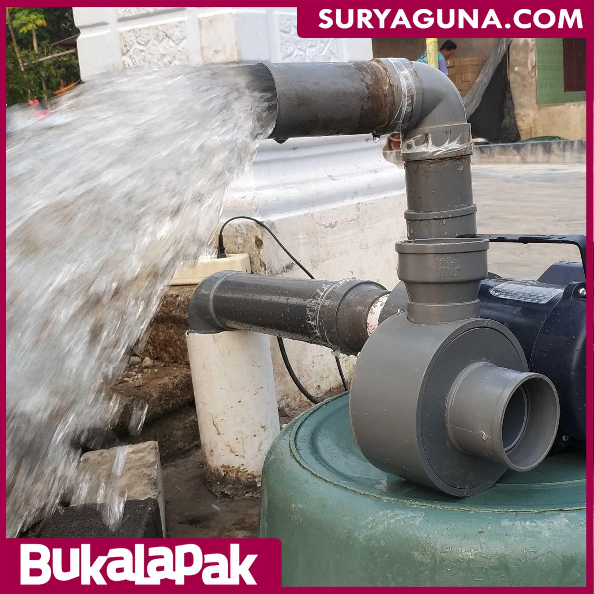 Pompa Air Tanpa Listrik Untuk Kolam Ikan
